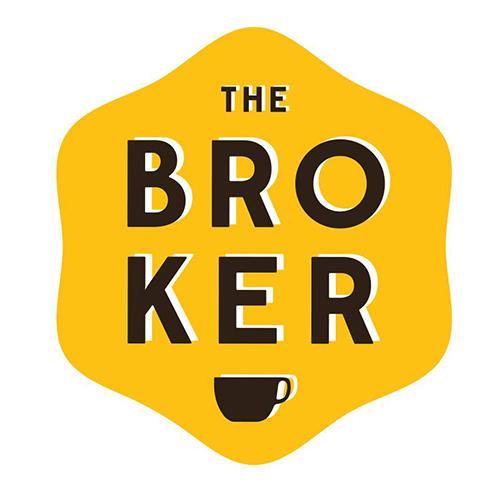 The Broker Coffee Roastery logo