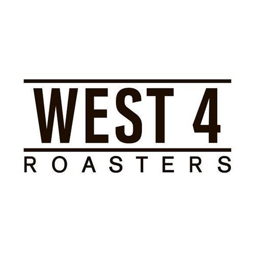 WEST 4 Roasters logo