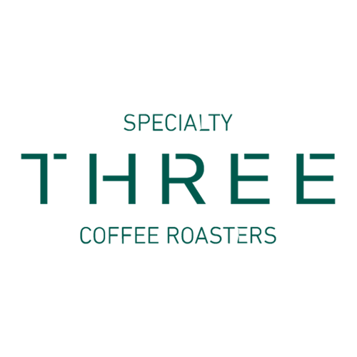 Three Coffee logo