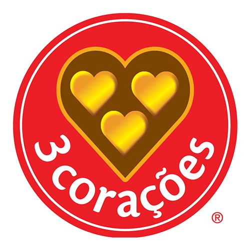 Café 3 Corações logo