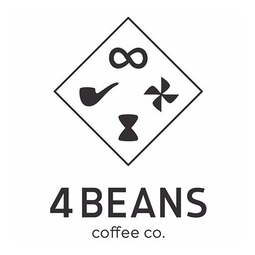 4 Beans Coffee Co. logo