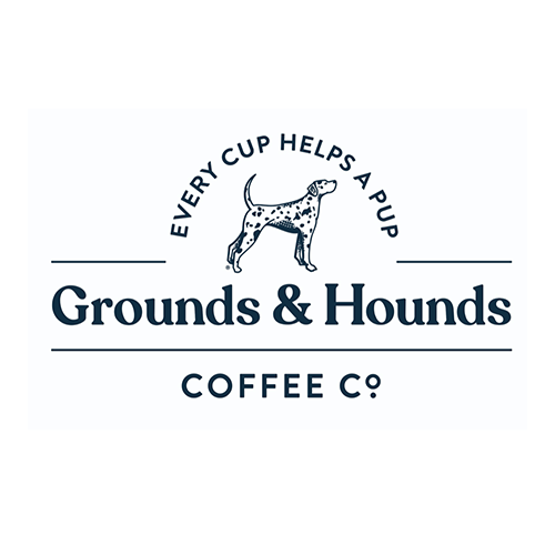 Grounds & Hounds Coffee Co. logo