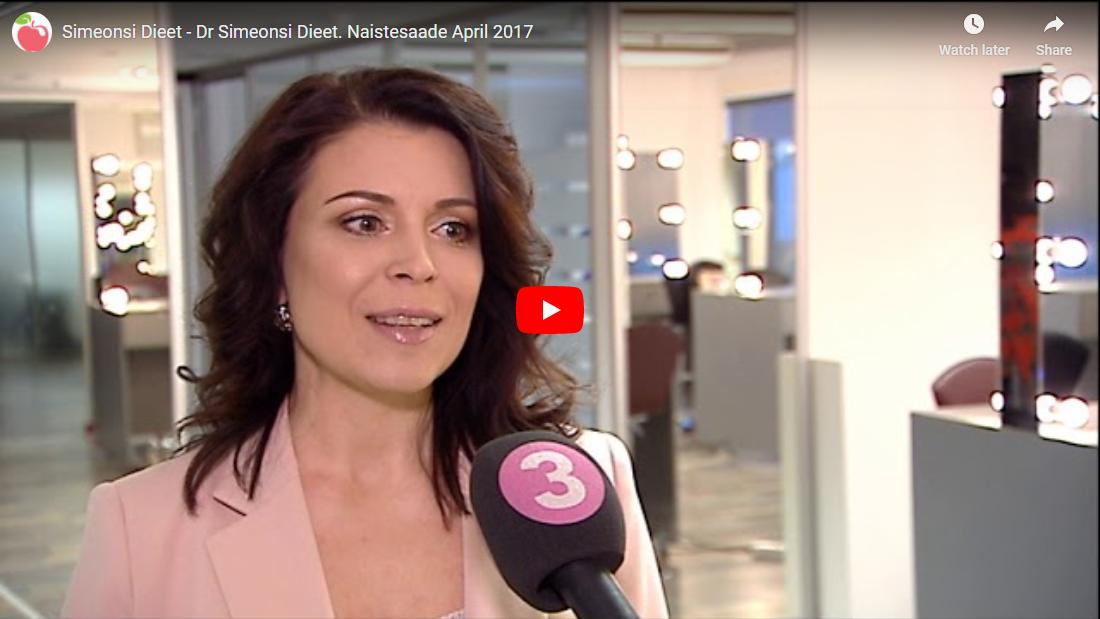 Toitumisnõustaja ja dieedikonsultant Aire Kängsep tutvustab Dr Simeonsi dieeti - Naistesaade 2017