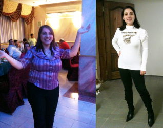 ענת שטרן, יועצת בכירה, תמונות לפני ואחרי דיאטת דר' סימאונס - דיאטת HCG