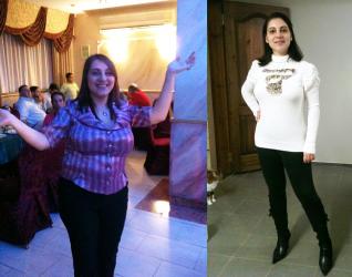 דיאטת HCG - תמונה לפני ואחרי
