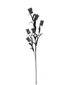 Flor espuma 68cm color lila