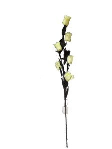 Flor espuma 68cm color beige