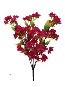 Flor cerezo 53cm color fucsia