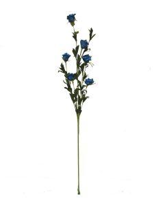 Flor espuma 70cm color azul