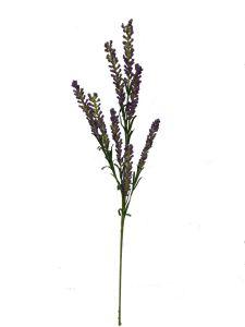 Flor espuma 75cm color lila