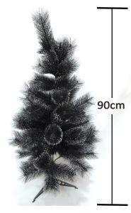 Árbol negro de navidad 90cm