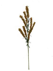 Flor espuma 75cm color ocre