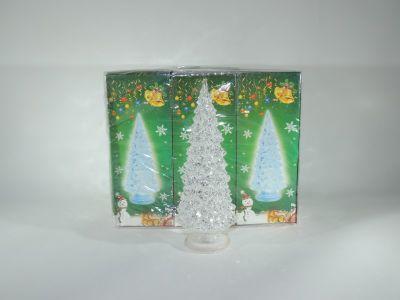 Árbol de Navidad escarchado...