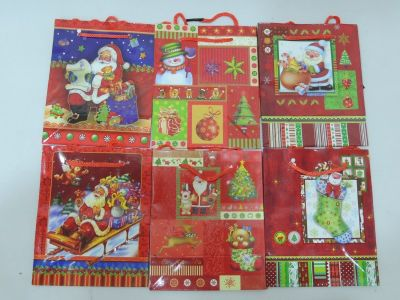 Bolsa regalos de navidad...