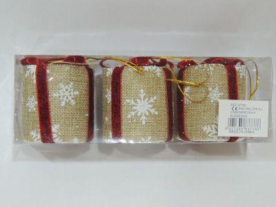 Caja 3 unid caja regalo...