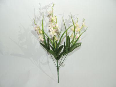 6叉香水兰 35cm 白加粉(12 unidades)