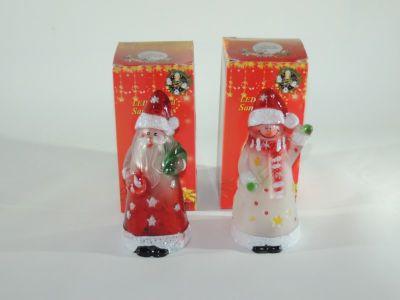 Muñeco de Nieve y Papa Noel...