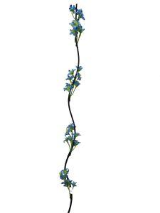 Flor seca 160cm color Azul