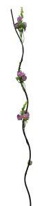 Flor seca 160cm color Lila