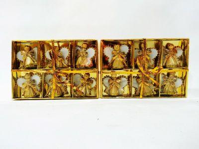Caja de 6 angeles color...
