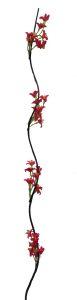 Flor seca 160cm color Fucsia