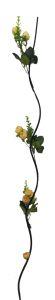 Flor seca 160cm color Champan