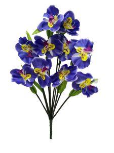 Flor orquidea 10 cabezas...