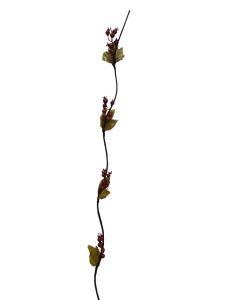 Flor seca 160 cm color rojo...
