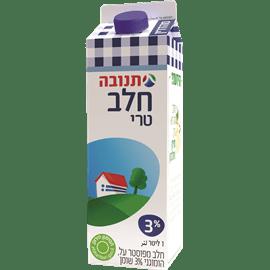 חלב בקרטון 3% שומן