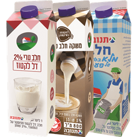 <!--begin:cleartext-->₪ קנה 3 יחידות ממגוון חלב טרי 2% דל לקטוז 1 ליטר במחיר 18<!--end:cleartext-->