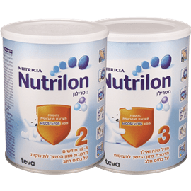 <!--begin:cleartext-->₪ בקניה מעל 75 ₪, קנה 2 יחידות ממגוון תחליף חלב אם נוטרילון 800 גרם במחיר 90<!--end:cleartext-->