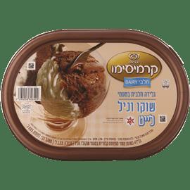 גלידה לייט שוקו וניל