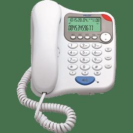 טלפון שולחני לבן