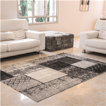 שטיח וינטג אפור כהה