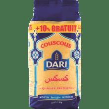 קוסקוס דארי + תוספת 10%