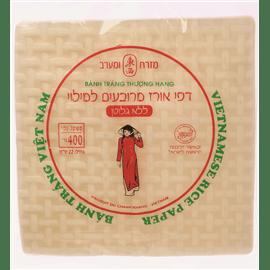 דפי אורז מרובע ללא גלוטן