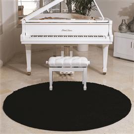 שטיח קוויבק שאגי שחור