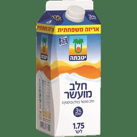 חלב יטבתה מועשר 3%