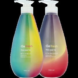<!--begin:cleartext-->₪ קנה 2 יחידות ממגוון סבון נוזלי עד 500 מ''ל Be במחיר 15<!--end:cleartext-->