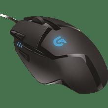 עכבר חוטי שחור כחול