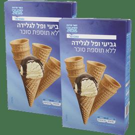 <!--begin:cleartext-->₪ קנה 2 יחידות גביעי גלידה ללת''ס שופרסל 24 יחידות במחיר 10.90<!--end:cleartext-->