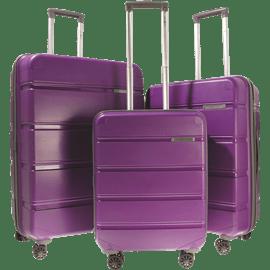 סט 3 מזוודות ABS SWISS VOYAGE