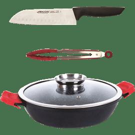 סט סוטז+סכין+מלקחיים יח ARCOS