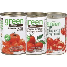 <!--begin:cleartext-->₪ קנה 3 יחידות ממגוון עגבניות חתוכות/שלמות אורגני גרין 400 גרם במחיר 10<!--end:cleartext-->