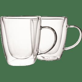 כוסות זכוכית דופן כפולה 2יח GALA HOME
