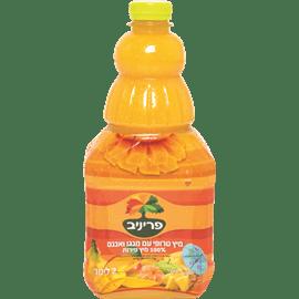 מיץ טרופי עם מנגו ואננס