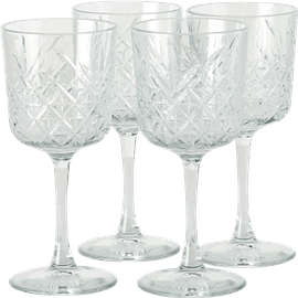 סט 4 גביעי יין