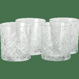 סט 4 כוסות זכוכית