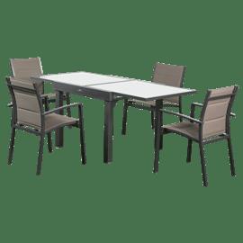 <!--begin:cleartext-->₪ קנה פינת אוכל שיקגו שולחן+4 כסאות AUSTRALIA CAMP במחיר 1890 ₪ במקום 1990<!--end:cleartext-->