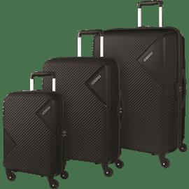 סט 3 מזוודות ABS AM.TOURISTR